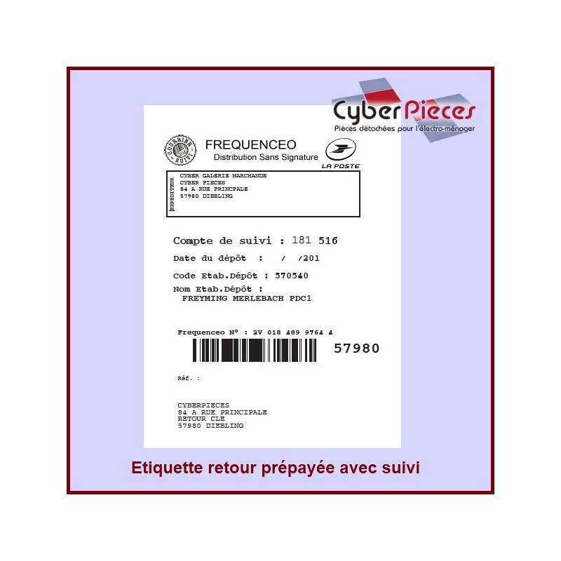 """Étiquette retour Prépayée  """"LA POSTE"""""""