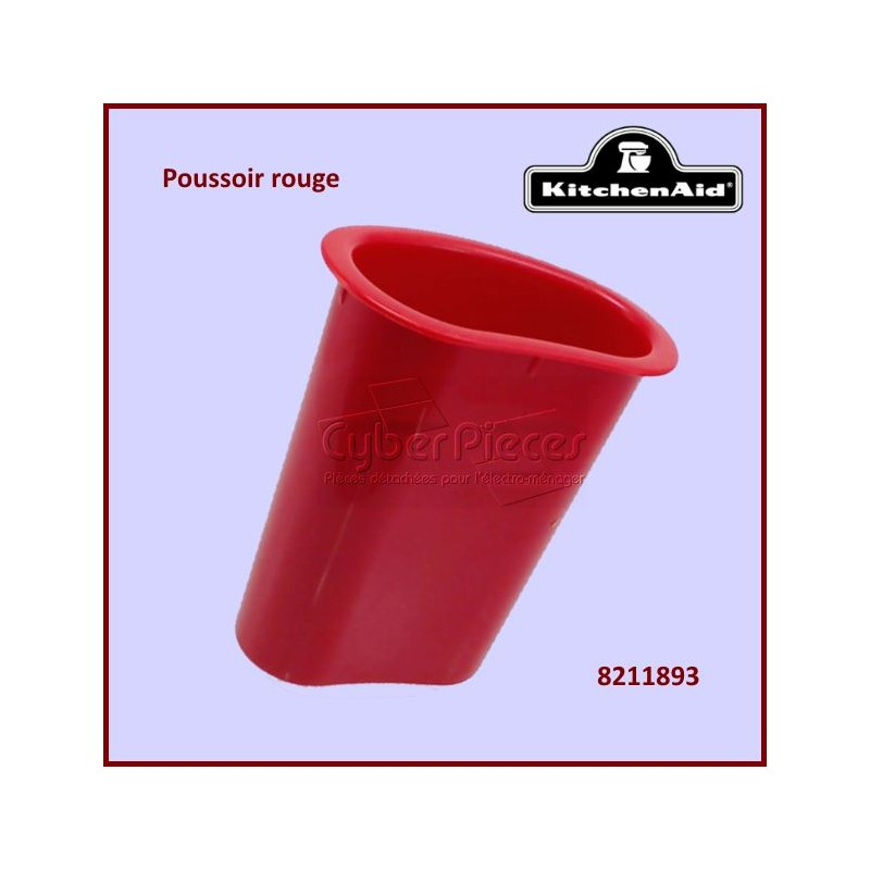 Poussoir rouge Kitchenaid 8211893