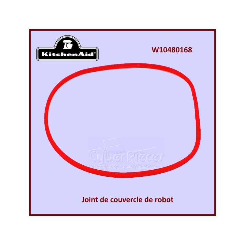 Joint de couvercle de robot Kitchenaid W10480168