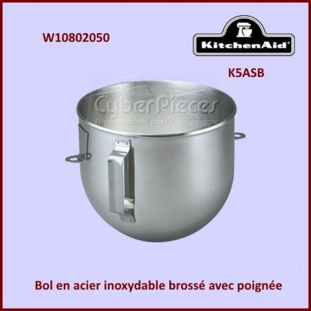 Bol de mixeur K5ASB Kitchenaid W10802050