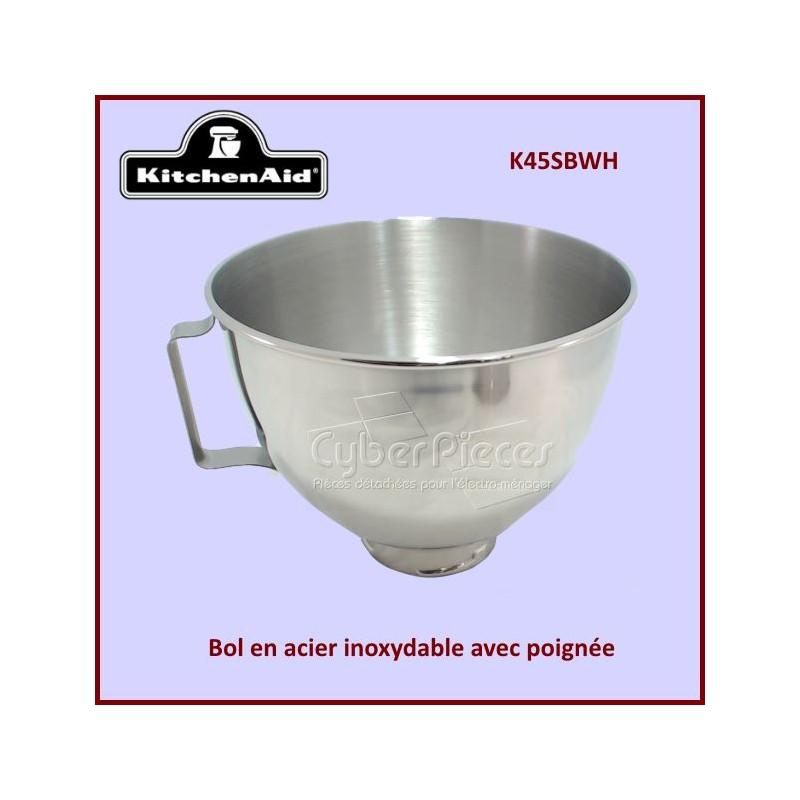 Bol de mixeur K45SBWH Kitchenaid W10802058