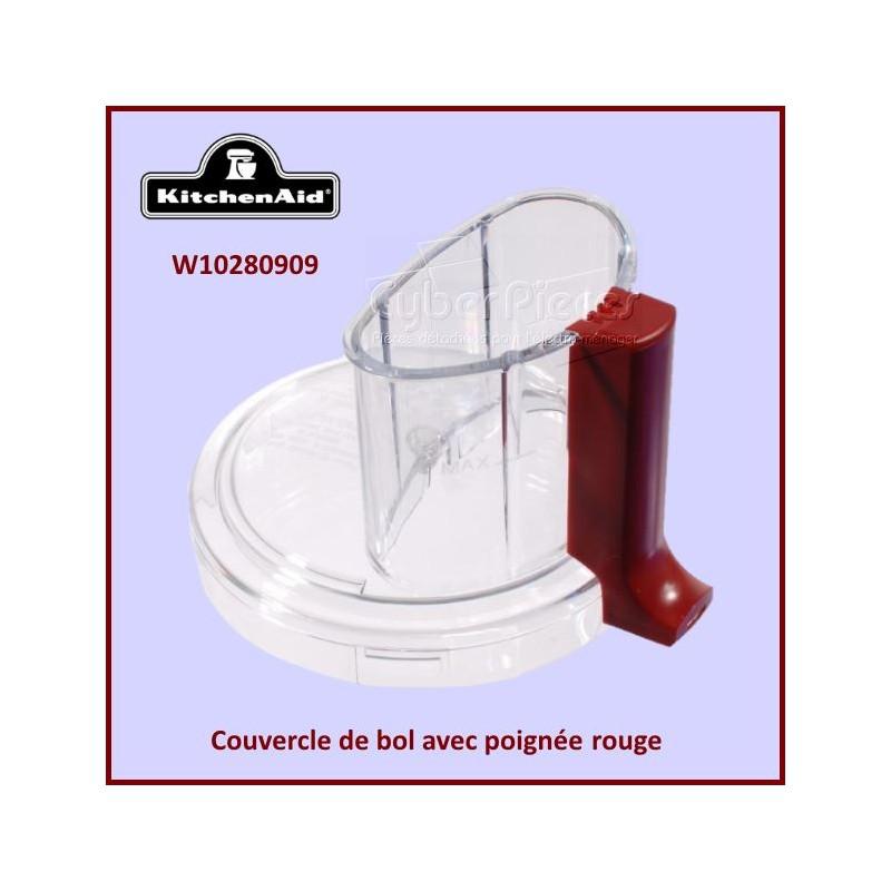 Couvercle de bol rouge Kitchenaid W10280909