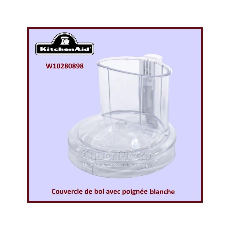 Couvercle de bol blanc Kitchenaid W10280898