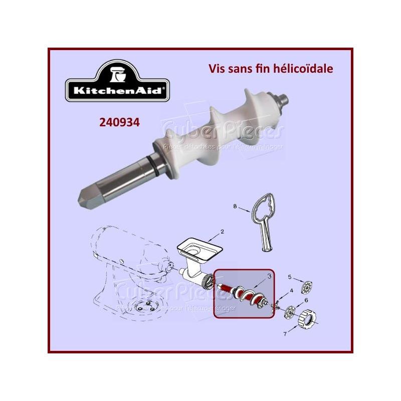Vis sans fin hélicoïdale Kitchenaid FGA 240934