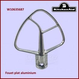 Mélangeur plat aluminium pour batteur Kitchenaid W10635687
