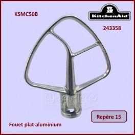 Mélangeur plat aluminium 5 QT / KSMC50B Kitchenaid 243358
