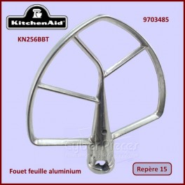 Mélangeur plat aluminium 6 Qt / KN256BBT Kitchenaid 9703485