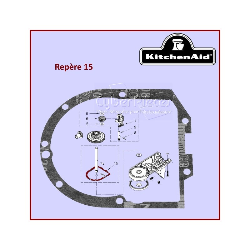 Joint du robot multifonctions Kitchenaid 4162324