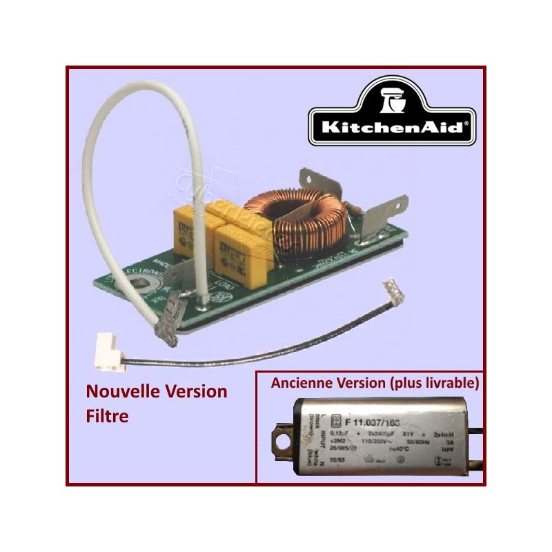 Platine Filtre interférence Kitchenaid 4176340