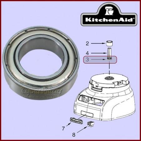 Roulement Axe moteur Robot Culinaire Kitchenaid W10451328 E4-8