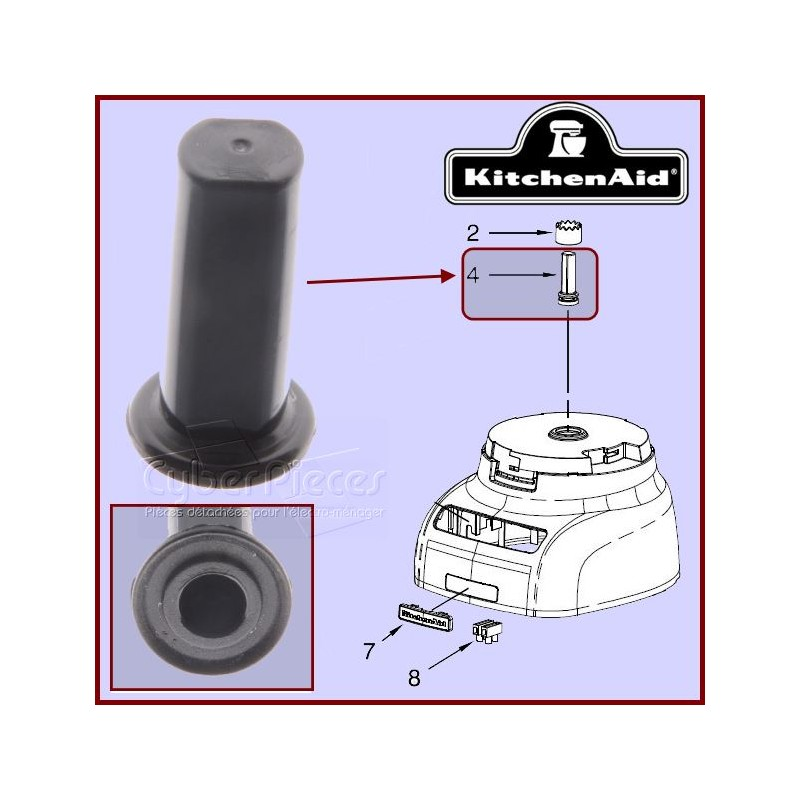 Axe central Kitchenaid  W10451326 E3-8