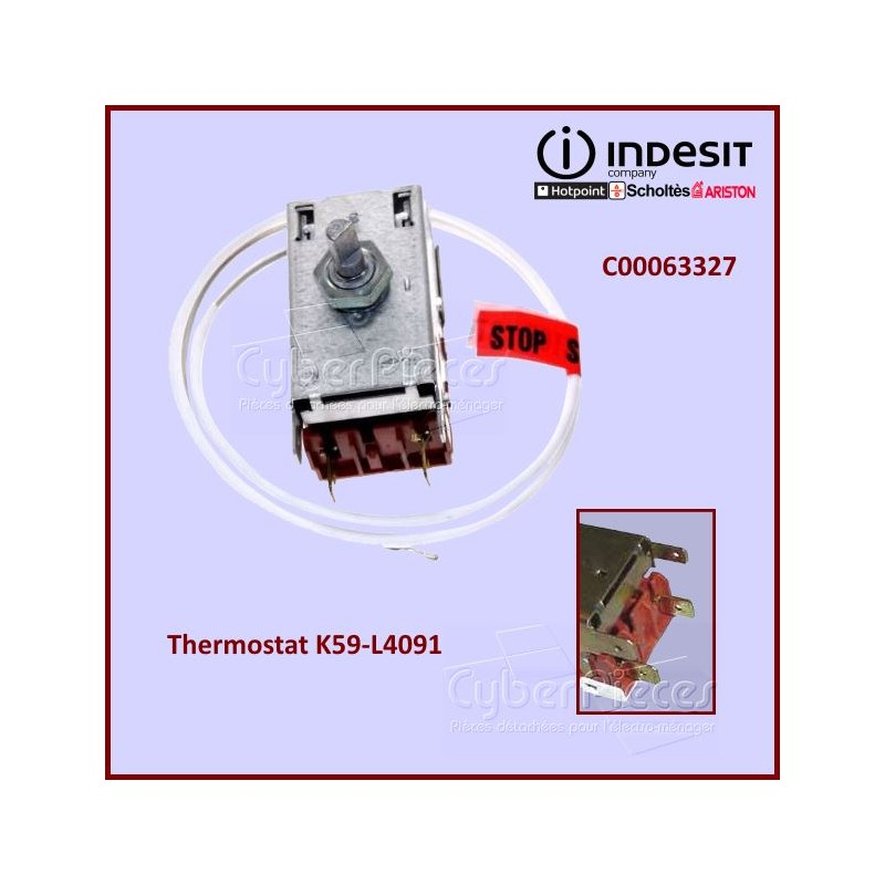 Thermostat K59L4091 Indesit C00063327