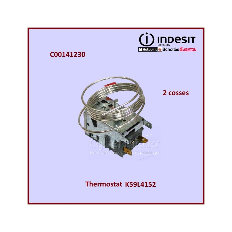 Thermostat K59L4152 Indesit C00141230