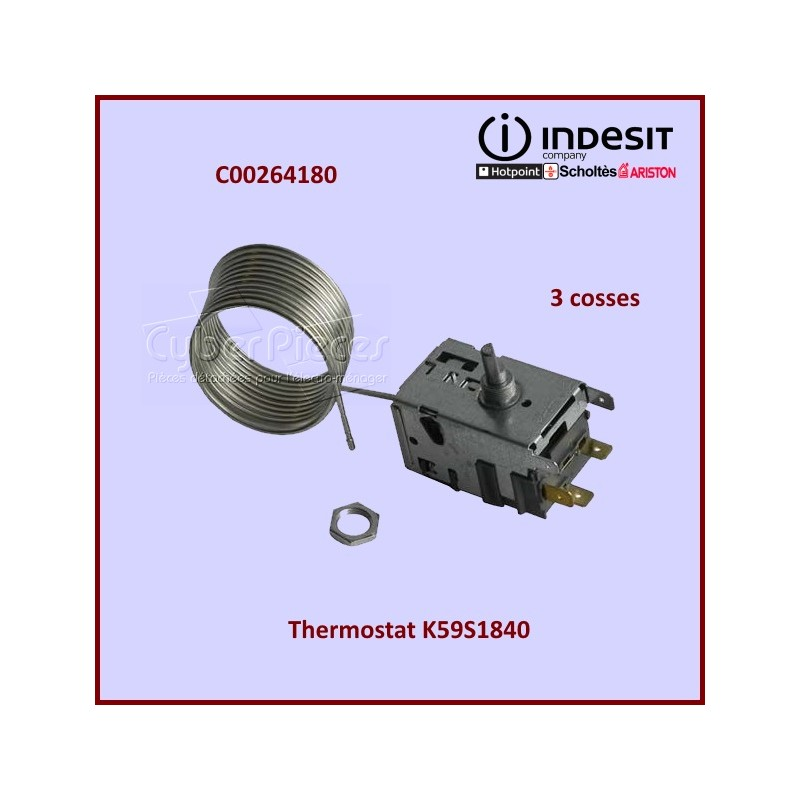 Thermostat K59S1840 Indesit C00264180