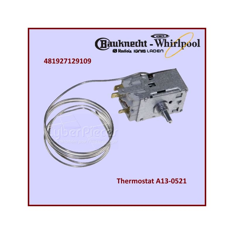 Thermostat A13-0521 Whirlpool 481927129109