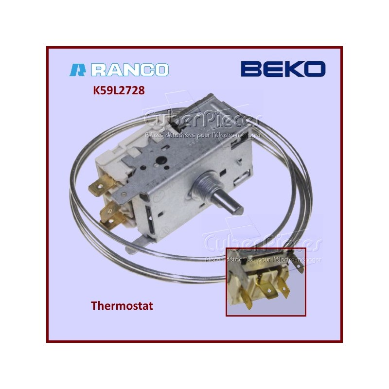 Thermostat K59L2728 Beko 9002754985