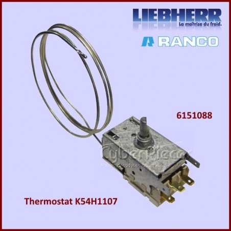 Thermostat K54H1107 Liebherr 6151088