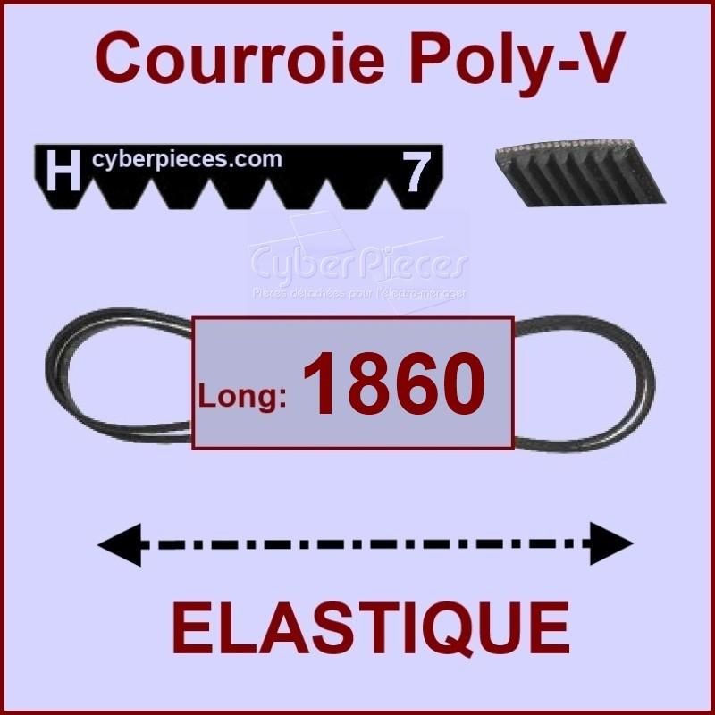 Couroie 1860 H7 - EL- élastique