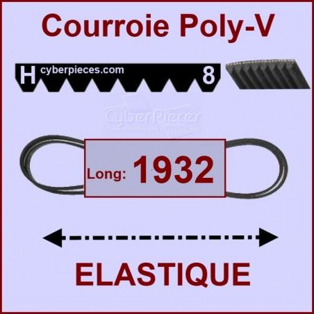 Courroie 1930/1932 H7 / H8 - EL-  élastique