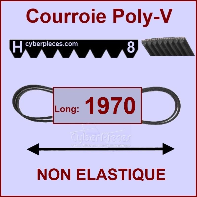 Courroie 1970 H8 non élastique