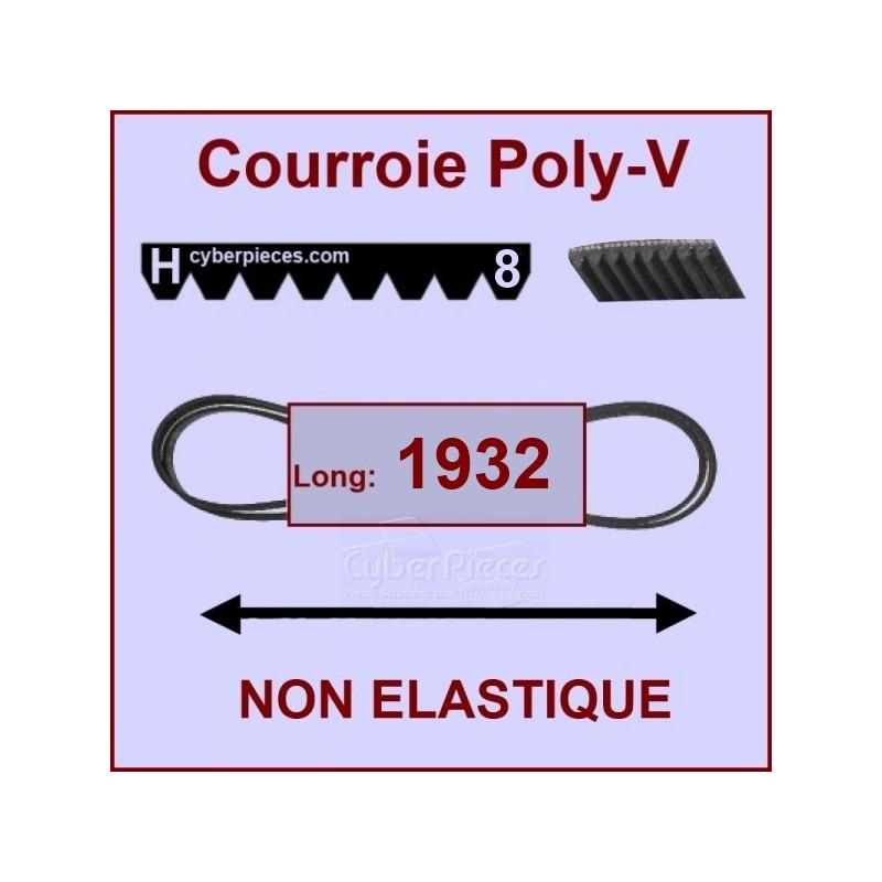 Courroie 1932 H8 non élastique