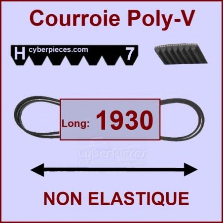 Courroie 1930 H7 non élastique 40001012