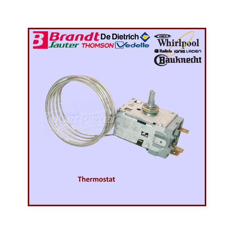 Thermostat K59L1942/500 Whirlpool 484000008687