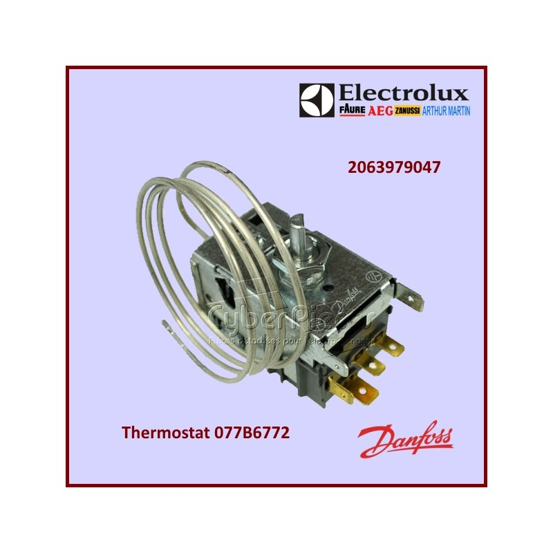 Thermostat 077B6772 Electrolux 2063979047