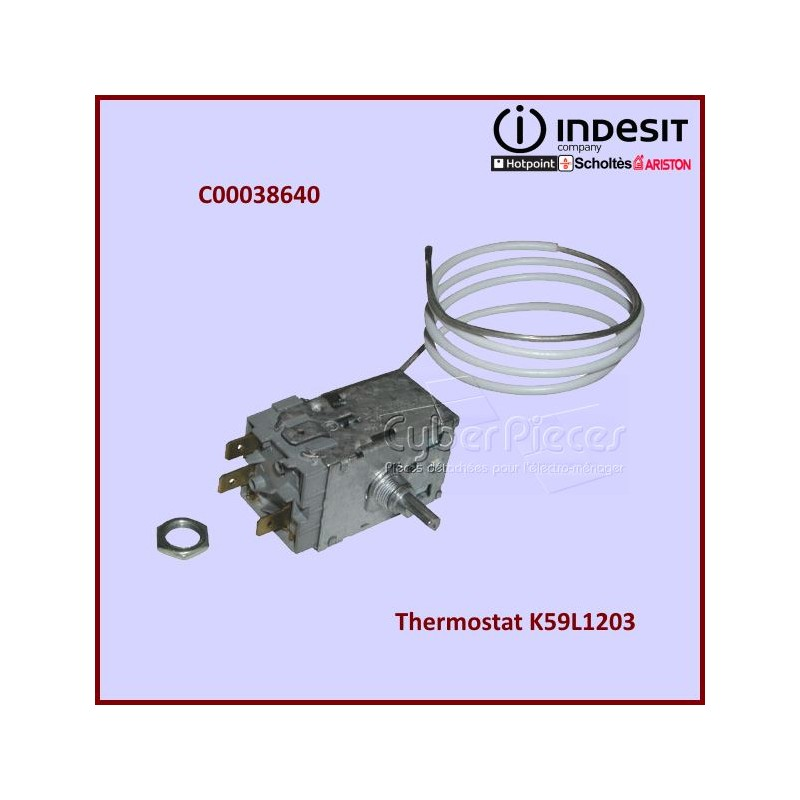 Thermostat K59L1203 Indesit C00038640
