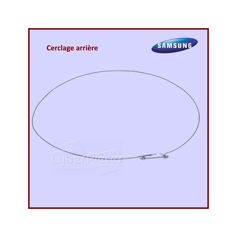 Cerclage arrière de joint de hublot Samsung DC9112077A