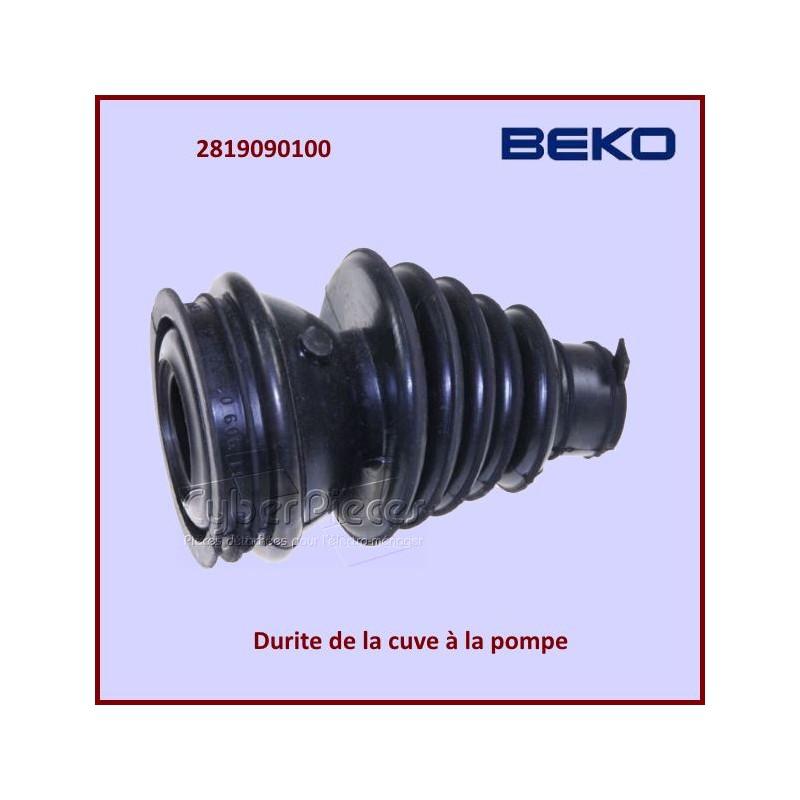 Durite de la cuve à la pompe Beko 2819090100