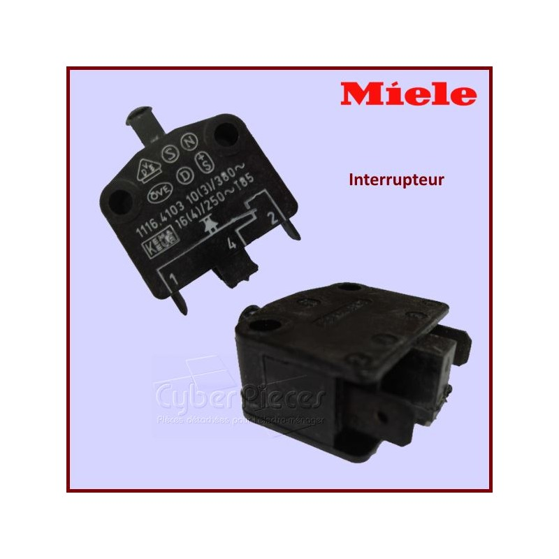 Interrupteur Miele 1357850