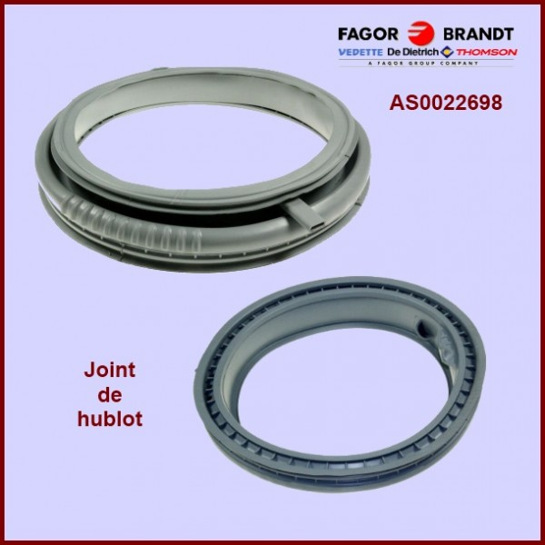 Joint de hublot brandt as0022698 pour manchette joint de - Changer joint hublot machine a laver ...