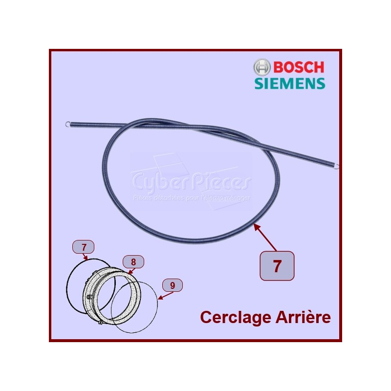 Collier Ressort De Fixation Bosch 00354134