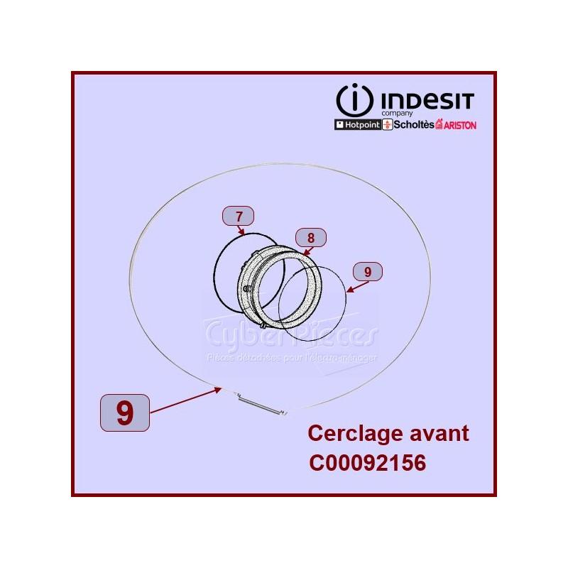 Cerclage Avant De Manchette Indesit C00092156
