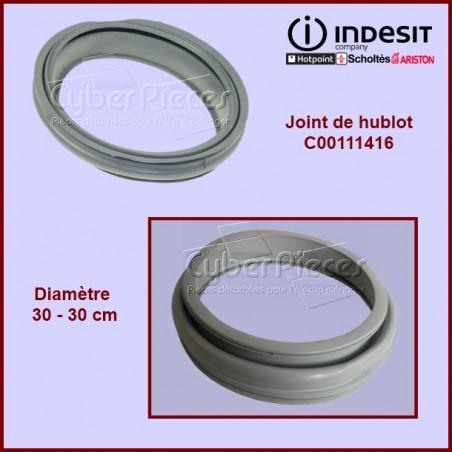 Manchette de hublot Indesit C00111416