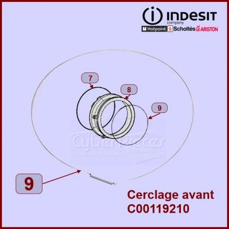 Cerclage Avant manchette Indesit C00119210