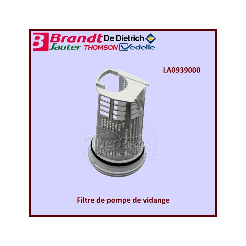 Filtre de pompe de vidange LA0939000