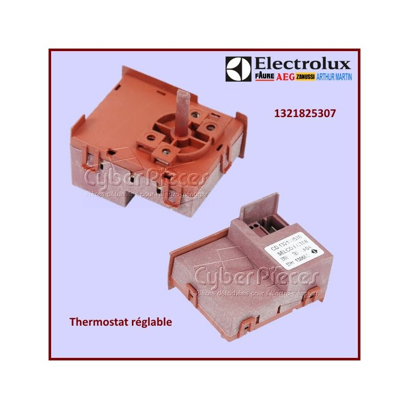 Thermostat réglable Electrolux 1321825307