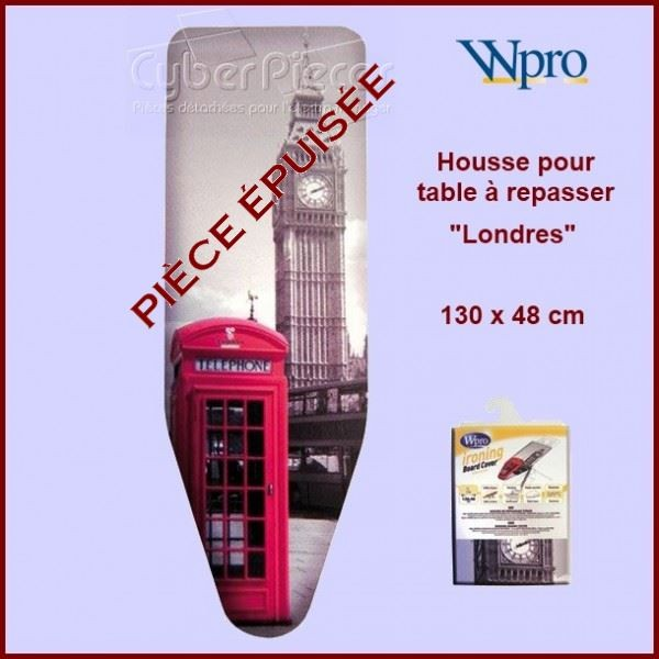 Housse de table repasser wpro new york pour fer for Housse de table a repasser