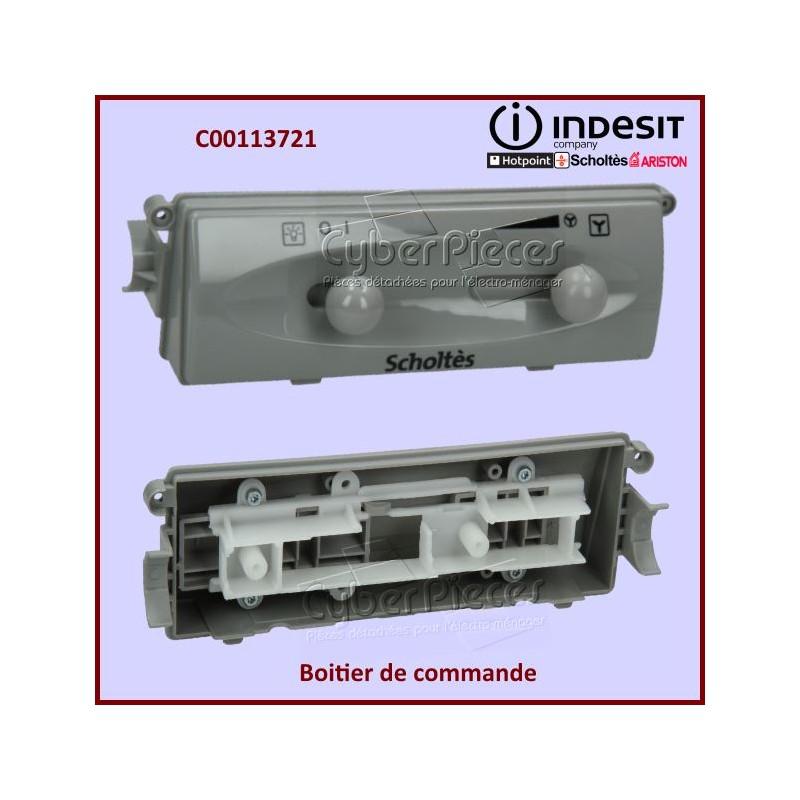 Boitier de commande Gris Indesit C00113721