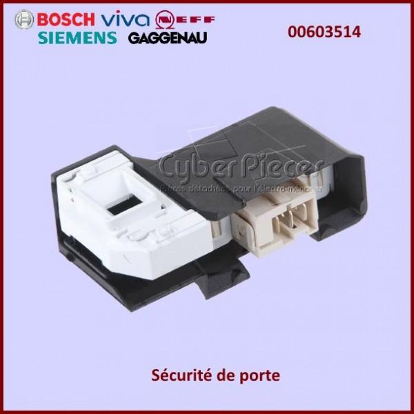 fermeture de porte bosch 00603514 pour verrou de porte machine a laver lavage pieces detachees. Black Bedroom Furniture Sets. Home Design Ideas
