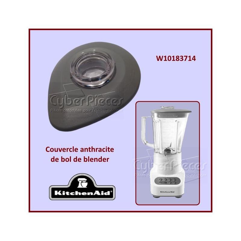 Couvercle Anthracite de bol Kitchenaid W10183714