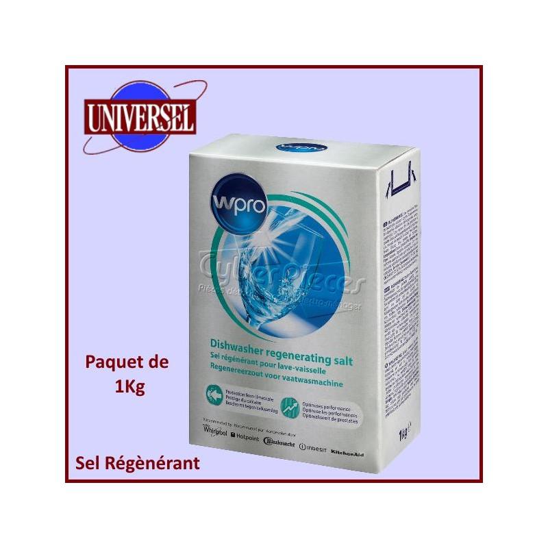 Sel Régénerant Anti-calcaire 1kg gamme WPRo
