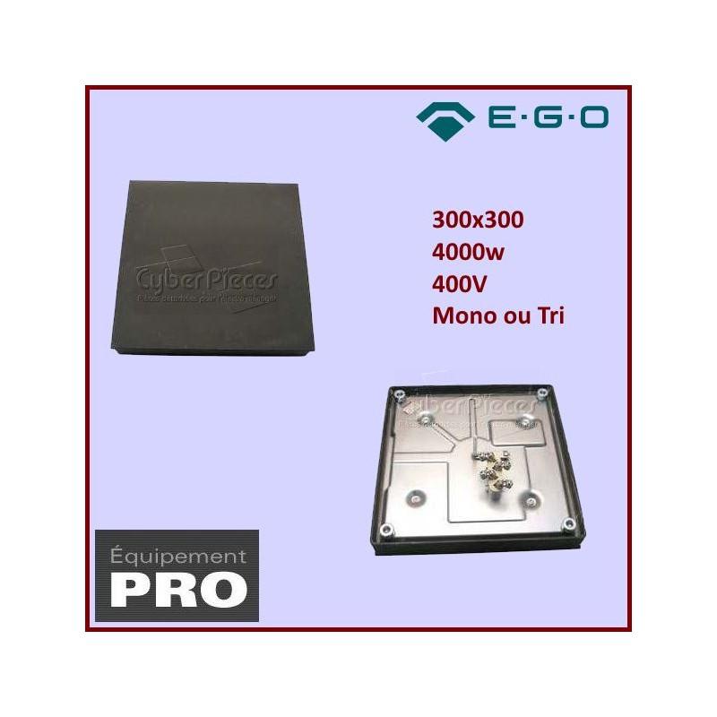 Plaque Fonte Restaurant 300x300 4000w 400V EGO11.33460.195