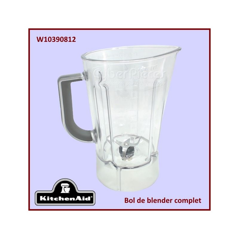 Bol blender complet Kitchenaid W10390812