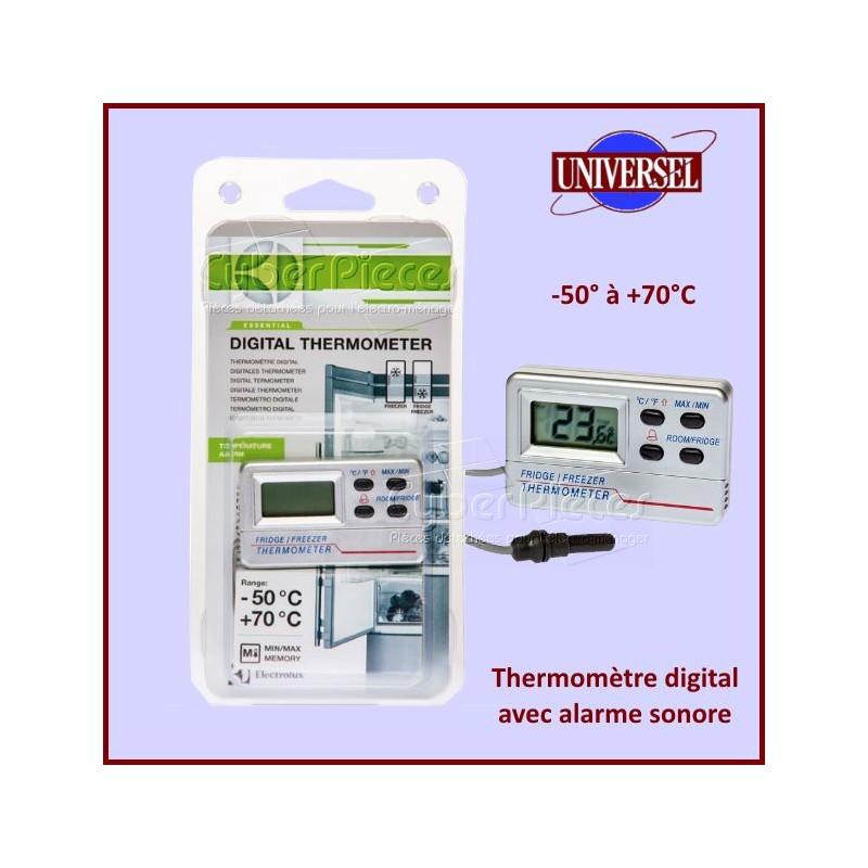 Thermomètre digital Réfrigérateur / Congélateur -50+70°C