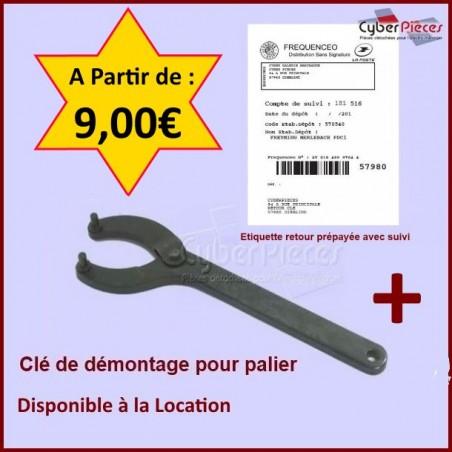 Clé de Démontage + Étiquette Retour Prépayée
