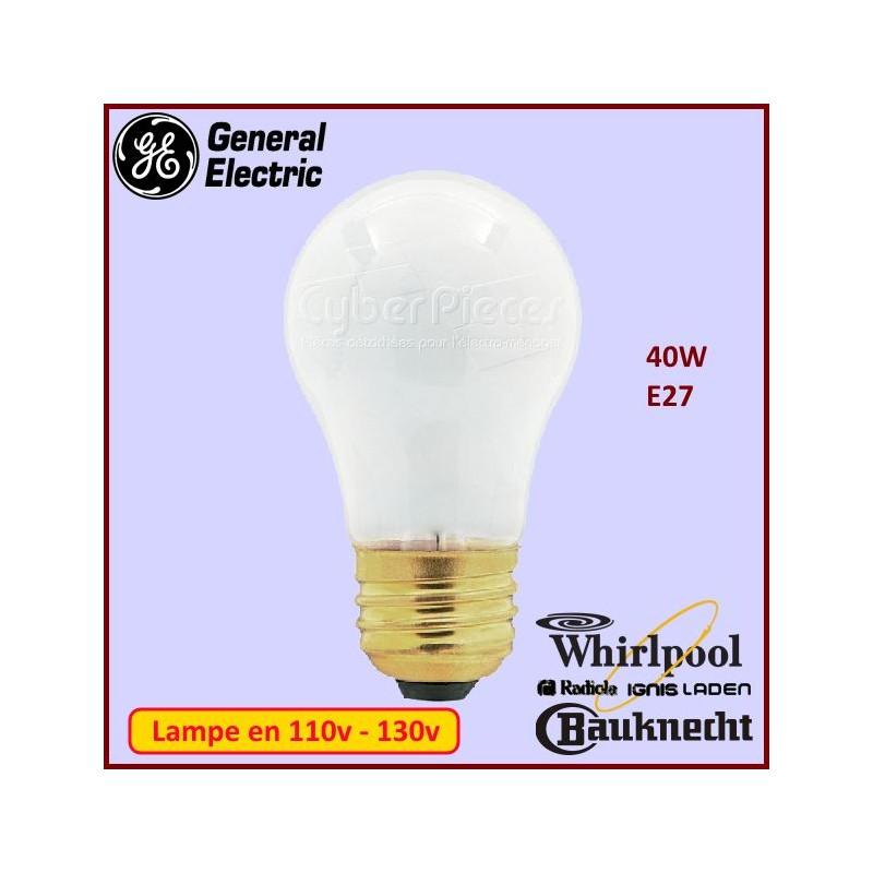 Ampoule E27 Standard 125v-130v 40w 40A15RVL