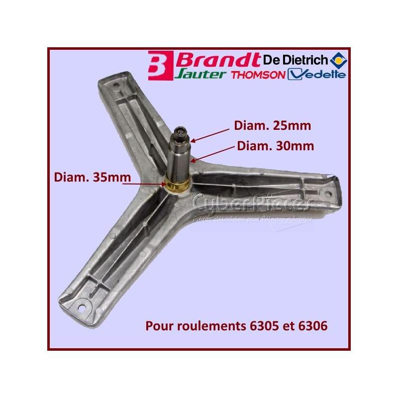 Croisillon et Axe palier 55x5433 du Tambour
